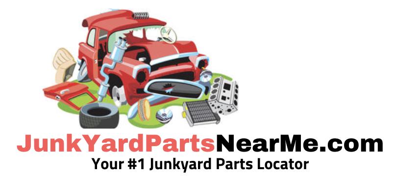 Junkyard Parts Near Me Salvage Yard Parts Near Me
